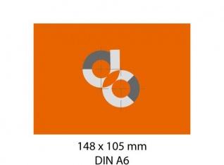 Adhesivos de papel DIN A6 – 105 x 148 mm